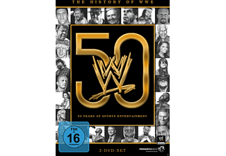 The History of WWE: 50 years of sports entertainment - (DVD)