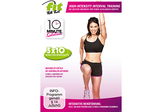 FitForFun-10 Minute Solution - High-Intensity-Interval Training [DVD]