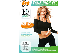 FitForFun-10 Minute Solution-Tanz Dich Fit - (DVD)
