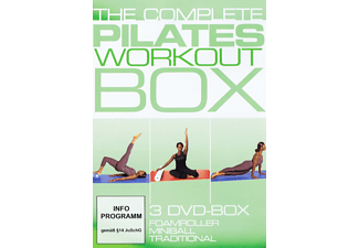 The Complete Pilates Workout Box - (DVD)