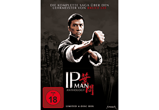 IP MAN Anthology (Limited 4-Disc Edition) - (DVD)