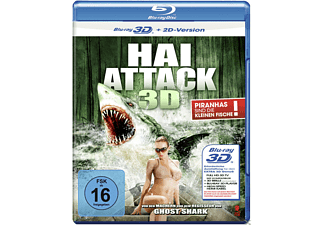 Hai Attack (3D) - (3D Blu-ray)