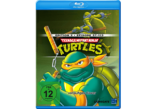 Teenage Mutant Ninja Turtles - Episoden 57-113 [Blu-ray]