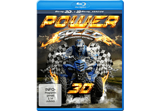 Power Speed 3D - (3D Blu-ray)