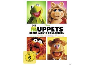 Die Muppets - 6 Movie Collection - (DVD)