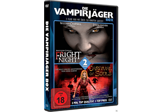 Die Vampirjäger Box: Carnival of Souls & Fright Night - (DVD)