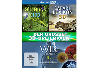 Der große 3D-Dreierpack - Collection 2 (Media Markt Exklusiv) [3D Blu-ray]