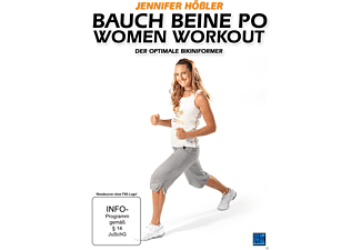 Jennifer Hößler - Bauch Beine Po Women Workout - Der optimale Bikiniformer [DVD]
