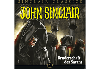 John Sinclair Classics 21: Bruderschaft des Satans - 1 CD - Horror