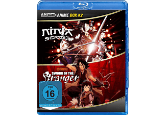 Anime Box 2 -  Sword of the Stranger, Ninja Scroll [Blu-ray]