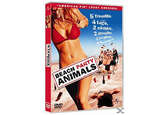 BEACH PARTY ANIMALS - (DVD)