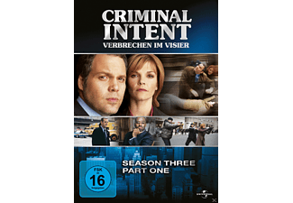Criminal Intent - Verbrechen im Visier - Season 3.1 - (DVD)