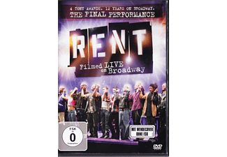 Rent: Filmed Live On Broadway [DVD]