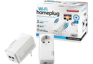 sitecom ln 555 homeplug kit 500 mbps powerline online kaufen bei mediamarkt. Black Bedroom Furniture Sets. Home Design Ideas
