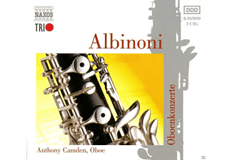 John Georgiadis, Anthony Camden - Oboenkonzerte - (CD)