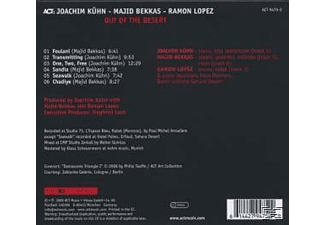 Kühn, Joachim / Bekkas, Majid / Lopez, Ramon;Kuehn Joachim - Out Of The Desert [CD]