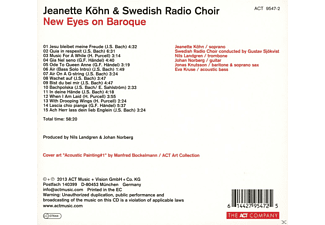 Jeanette Köhn;Swedish Radio Choir;Nils Landgren;Johan Norberg;Jonas Knutsson;Eva Kruse - New Eyes On Baroque [CD]