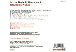 Slettahjell, S./Wesseltoft, B./In The Country/+ - Jazz At Berlin Philharmonic Ii [CD]
