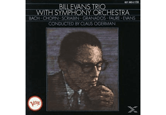 Bill Evans - With Symphony Orchestra - (CD)