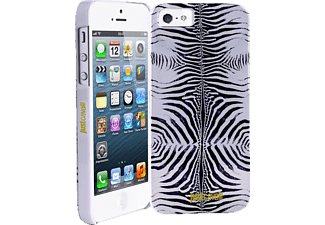 JUST CAVALLI CAV-065583, Backcover, iPhone 5, iPhone 5s, Silber/Zebra