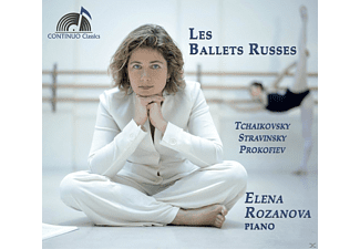 Elena Rozanova - Les Ballets Russes - (CD)