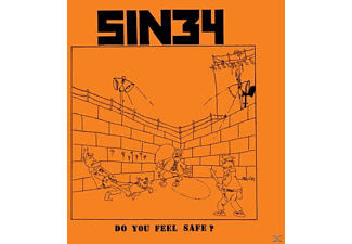 Sin 34 - Do You Feel Safe? - (LP + Download)