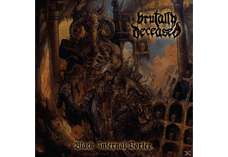Brutally Deceased - Black Infernal Vortex - (Vinyl)
