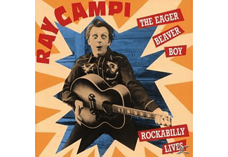 Ray Campi - The Eager Beaver Boy - (CD)