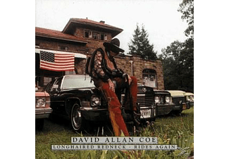 David Allan Coe - Longhaired Redneck/Rides Again - (CD)