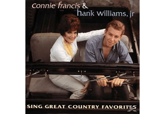 Connie Francis - Sing Great Country Favorites - (CD)