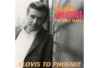 Waylon Jennings - Clovis To Phoenix-The Early - (CD)