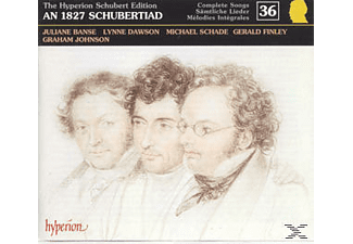 BANSE, SCHADE, FINLEY, DAWSON,  JOHNSON, Banse/Schade/Finley/Johnson - Schubert Edition Vol.36 - (CD)