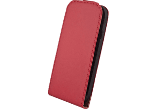 AGM 25695, Flip Cover, Apple, iPhone 6 Plus, Kunstleder, Rot