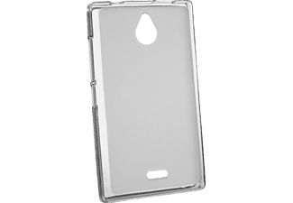 36139 Backcover Nokia X2 Thermoplastisches Polyurethan Grau/Transparent