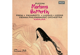 Mirella Freni, Luciano Pavarotti, Christa Ludwig, Robert Kerns, Wiener Philharmoniker - Madama Butterfly  (Ltd.Deluxe Edt.) [CD + Blu-ray Audio]