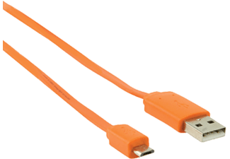 VALUELINE USB 2.0 till Micro-USB 1 m Orange
