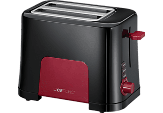 clatronic toaster ta 3551 schwarz rot mediamarkt. Black Bedroom Furniture Sets. Home Design Ideas