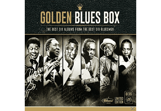 VARIOUS - Golden Blues Box-Lim.Edition - (CD)