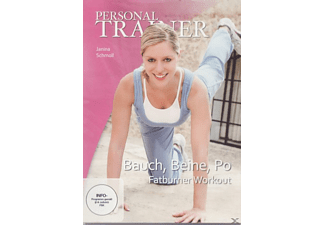 Personal Trainer - Bauch, Beine, Po - Fatburner Workout - (DVD)