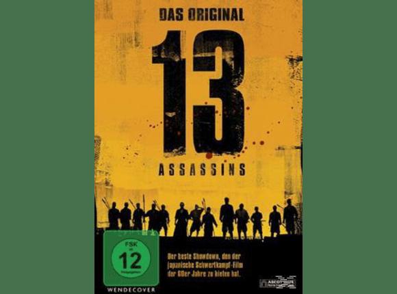 13 ASSASSINS - DAS ORIGINAL (S/W 1963) [DVD]
