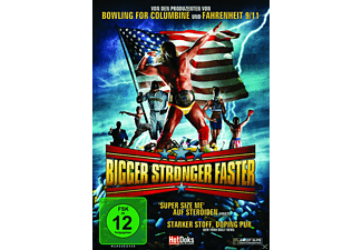 BIGGER STRONGER FASTER - (DVD)