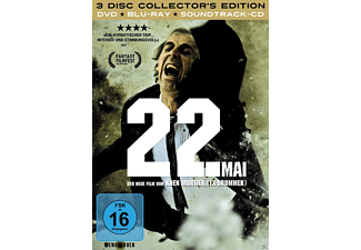 22. MAI (COLLECTOR S EDITION/+DVD/+CD) [Blu-ray + DVD]