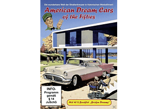 AMERICAN DREAM CARS OF THE FIFTIES (NEUAUFLAGE) - (DVD)