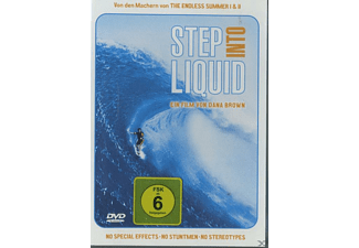 STEP INTO LIQUID - (DVD)