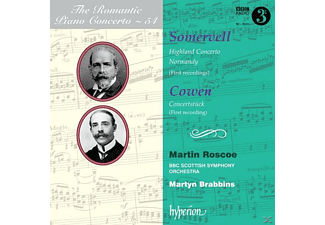 Bbc Scottish So, M. Brabbins, Roscoe, M./Roscoe/BBC Scottish SO Brabbins - Romantic Piano Concerto Vol.54 - (CD)