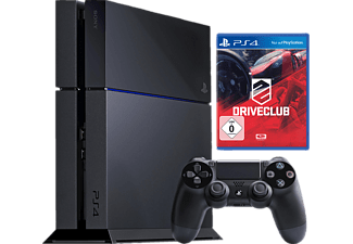 sony ps4 konsole 500gb schwarz inkl driveclub. Black Bedroom Furniture Sets. Home Design Ideas