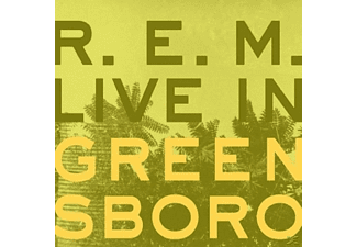 R.E.M. - Live In Greensboro - (CD)
