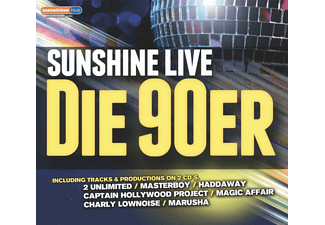 VARIOUS - Sunshine Live-The 90's - (CD)