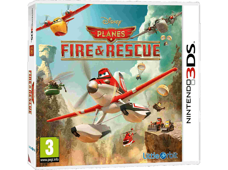 Planes: Fire & Rescue gaming games nintendo 2ds  3ds games gaming φορητές κονσόλες games 2ds  3ds