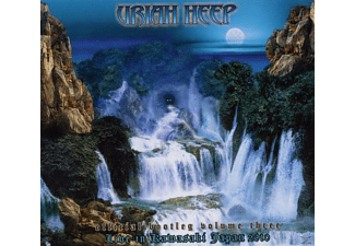 Uriah Heep - Official Bootleg, Vol.3-Live In Kawasaki, Japan 2010 [CD]